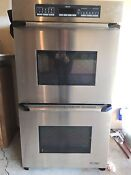 Dacor Ecs227sbk 27 Double Electric Wall Oven Stainless