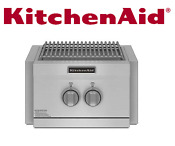Kitchenaid Built In 60k Btu Side Power Burner Kbpu182vss