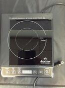 Used Duxtop 1800 Watt Portable Induction Cooktop Countertop Burner As Is