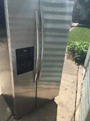 Amana Side By Side Icemaker Refrigerator