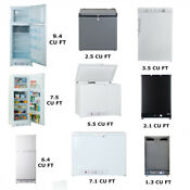 Smad 1 3 9 4 Cu Ft Propane Gas Fridge Freezer Lp Gas 12v 110v Camper Van Rv Boat