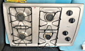 Whirlpool W3cg3014xs Stainless Steel 31 44 In Gas Cooktop Burners Range Ignitor