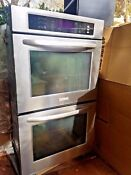 Kitchenaid Architect Series Ii 30 Stainless Steel Built In Double Electric Oven