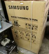 Samsung Nx58k3310ss 30 Gas Range Stainless Steel Brand New Local Pick Up