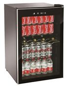Igloo 4 5 Cu Ft Mini Refrigerator With Interior Light Glass Door