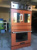 American Range 30 Double French Chef Door Electric Oven With Upgraded Coating
