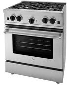 Bluestar Rcs30sbss 30 Stainless Steel Gas Range
