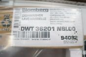 Blomberg Dwt36201 24 Fully Integrated Dishwasher Panel Ready Miele Bosch Viking
