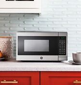 Ge Jes1072shss 0 7 Cu Ft Countertop Microwave Oven In Stainless Steel
