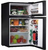 Mini Fridge 3 2 Cu Ft Compact Refrigerator W Freezer Home Office Dorm Game Room