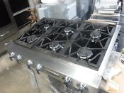 Jenn Air Pro Style Jgcp636adp Stainless Steel 36 06 In Gas Gas Cooktop