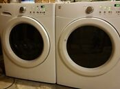 Kenmore He Electric Washer And Gas Dryer Set Used