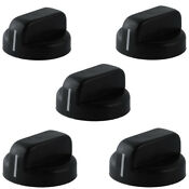 5pcs Plastic Gas Stove Oven Control Rotary Switch Stove Knobs For Stove