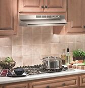 Under Cabinet Range Hood Kitchen Stove Fan Non Ducted Stainless Steel 30 Inch