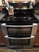 Lg Lde3017st 30 Stainless Dual Oven Electric Range 7 3 Cuft