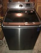 Samsung Black Ss 27 Electric Washer And Dryer Set Wa50f9a8dsp A2