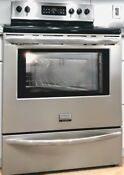 Frigidaire 30 Stainless Steel Electric Smoothtop Range