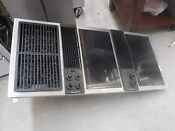 Jenn Air Cve4370b 3 Bay Downdraft Cooktop With Glass Cartridges Last One