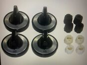 Aftermarket Knob Kit Universal Gas Range Part Kn001