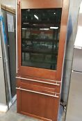 Ge Monogram 30 Refrigerator Built In Bottom Freezer Refrigerator