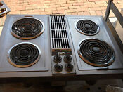 Jenn Air Downdraft Stainless With Grill Unit