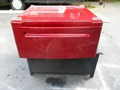 One 1 27 Washer Dryer Pedestal Wild Cherry Red Lg Kenmore Wdp3r