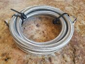 Watts 3 4in X 3 4in X 5ft Stainless Steel Washing Machine Hose