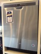 Open Box Whirlpool Stainless Steel Dishwasher Wdf560safm