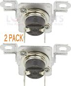 2 Pk Dryer Thermal Fuse Kit For Whirlpool Maytag Ap6009129 Wp40113801