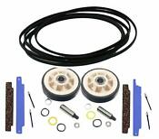 New Dryer Maintenance Kit For Maytag Wpy312959 306508 12001541 Belt Rollers