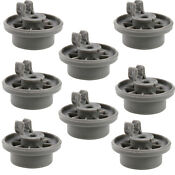 4x Dishwasher Lower Rack Wheel For Maytag Kenmore Hoover Norge Menumaster 420198
