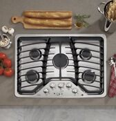 Ge 30 Stainless Steel Gas Cooktop Pgp953setss