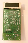 Microwave Oven Front Control Panel For Sylvania Sm81012 Replacement Part