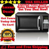 700watt Digital Microwave Oven Kitchen Counter 0 7cu Ft Compact Red White Black