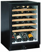 U Line 2075wcb Echelon Series Black 48 Bottle Wine Captain Refrigerator 220 Volt