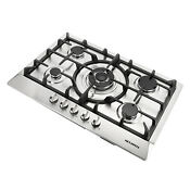 30 Brand New Stainless Steel 5 Burner Cook Top Built In Stoves Ng Lpg Gas Hob