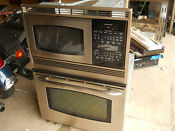 Ge Combo Microwave Oven Stainless Model R 30 Inch 30 Inch Available Only