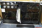 Jenn Air 36 Electric Built In Downdraft Cooktop Jed3536ws04