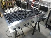 Thermador Professional Series 48 Gas Cook Top With Griddle Model Gps486gis