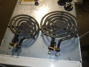 Vintage Westinghouse Stove 6 Or 8inch 1600 Corox Burner Rare