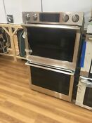 Samsung 30 Inch Double Wall Oven Stainless Steel Model Nv51k7770ds