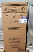 Sub Zero 36 Built In Freezer Panel Ready Bi 36f O Rh