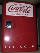 Koolatron Coca Cola Personal Fridge Display Model