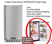 New Ourdoor Rated Marvel 15 Built In All Refrigerator 30armssblr Right Hinge