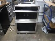 Samsung 30 Stainless Combination Electric Wall Oven Nq70m6650ds