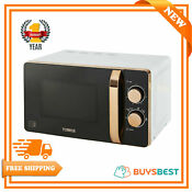 Tower 20l Manual Solo Microwave 800w White Rose Gold T24020w