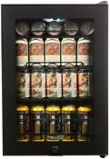 Newair 17 In 90 Can Black Freestanding Beverage Cooler Compact Refrigerator