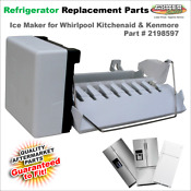 2198597 Refrigerator Ice Maker Whirlpool Kitchenaid Kenmore W10190960 626663