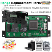 316455400 Range Oven Clock For Electrolux Frigidaire Kenmore Ap3956392 Ps1528267