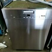 Miele G4228scu Futura Classic Clean Touch 24 Stainless Steel Dishwasher Nice
